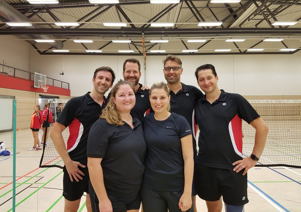 ESV Flügelrad Badminton - 2. Mannschaft 2018-19