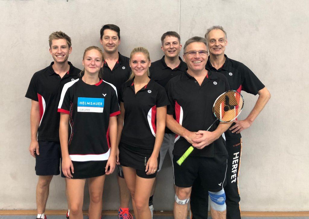 ESV Flügelrad Badminton - 4. Mannschaft 2018-19