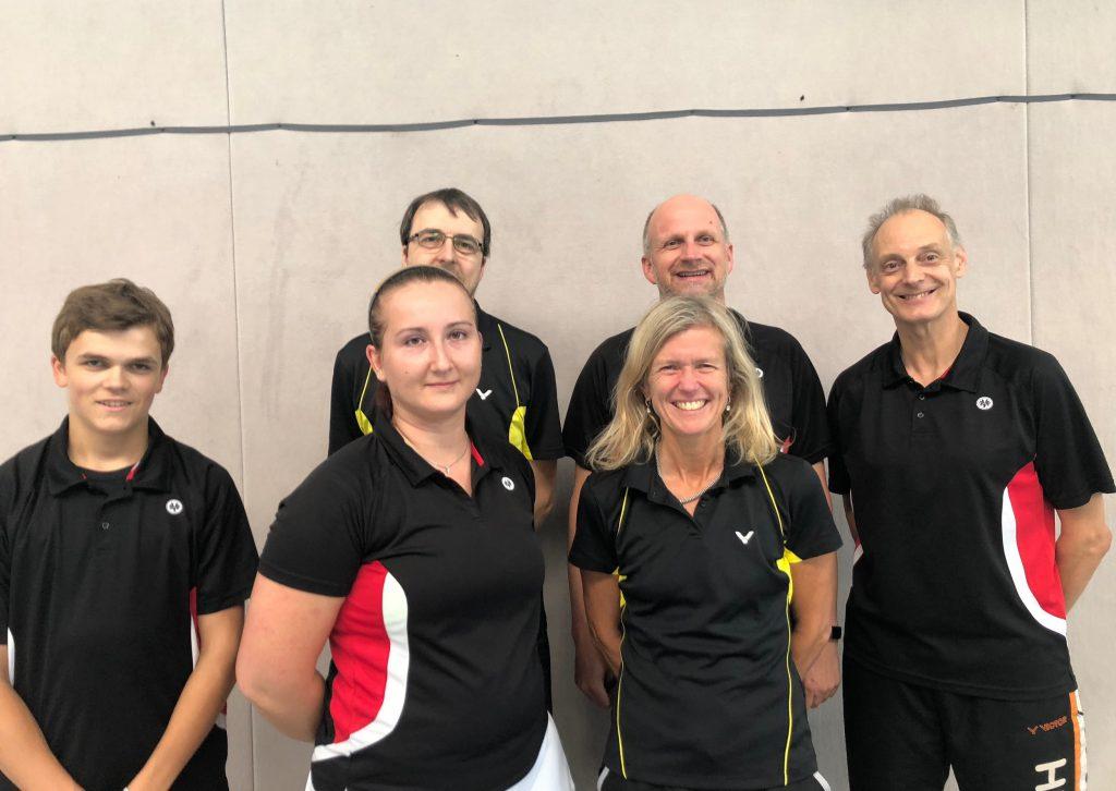 ESV Flügelrad Badminton - 5. Mannschaft 2018-19