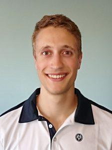 Jugendwart Manuel Massari